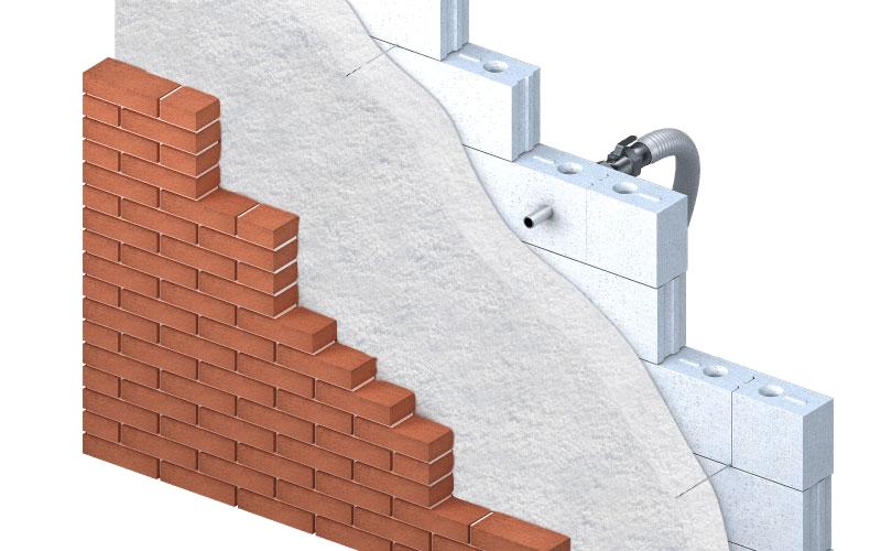 knauf cavity wall | KNAUF SUPAFIL Cavity XL | IsolatieDeal