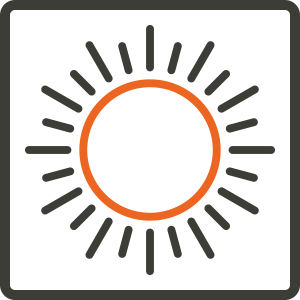 zomer vierkant icon | Product | IsolatieDeal